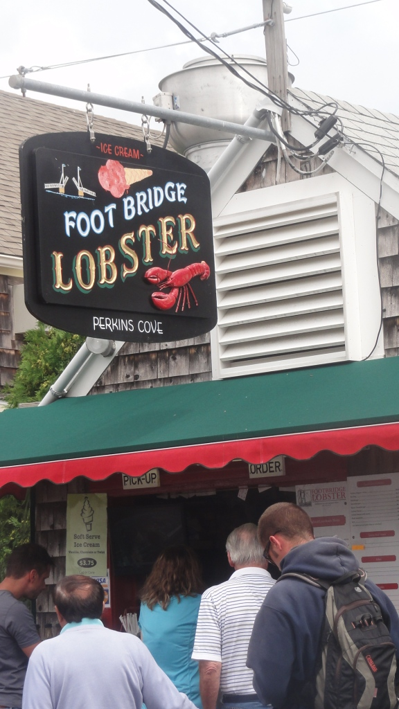 Foot Bridge lobster - just about as fresh as it gets