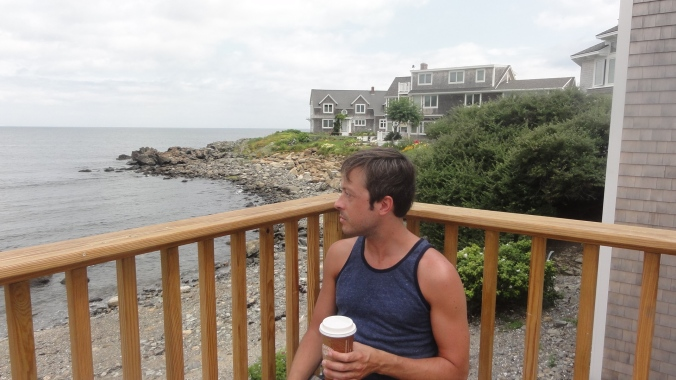 Afternoon tea overlooking Marginal Way