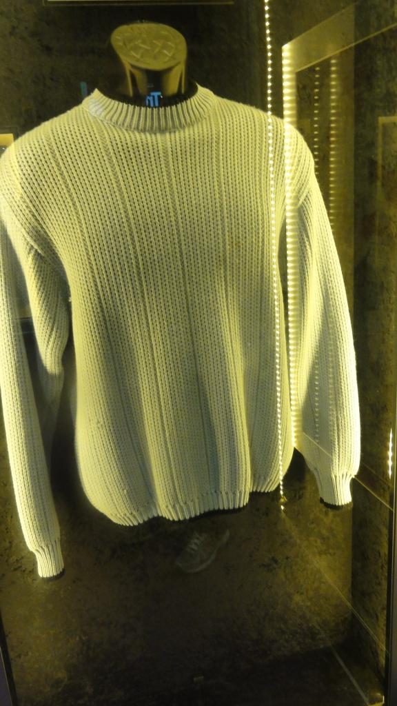 Buddy Holly's sweater
