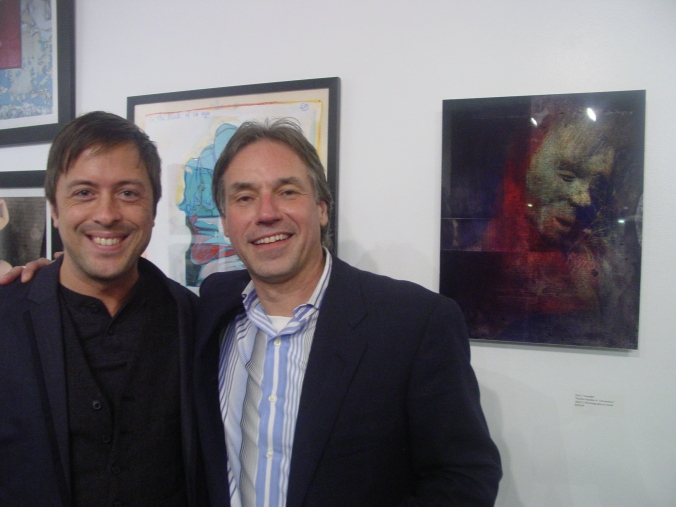 With Paul Toussaint, Curator