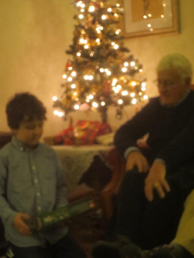 Ethan & Grandpa