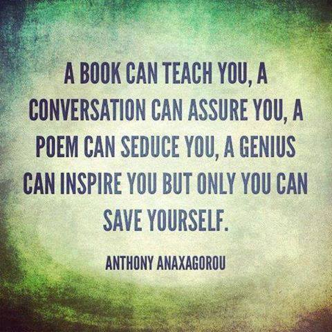 Only You Can Save Yourself