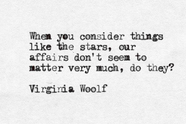 v woolf stars
